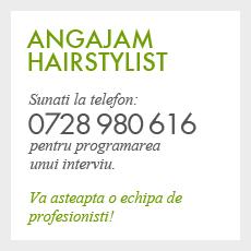 Salon Deea | Brasov: Angajare Hairstylist